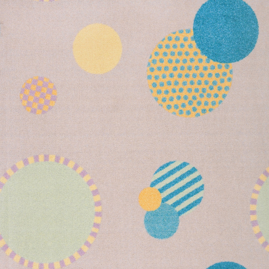 "Baby Dots© Classroom Rug, 7'8"" x 10'9"" Rectangle Multi"