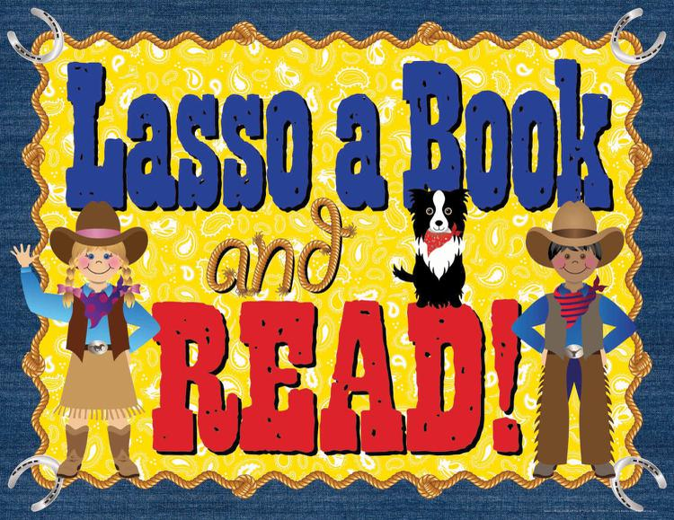 Lasso A Book and Read Say-It Chart
