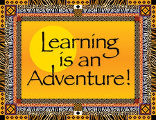 Africa - Learning is an Adventure Say-It Chart