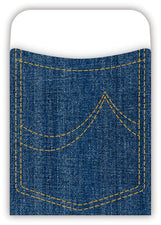 PEEL & STICK Denim Pockets