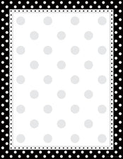Black & White Dot Paper