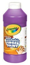 Washable Fingerpaint 16 Oz Violet