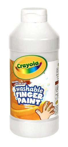 Washable Fingerpaint 16 Oz White