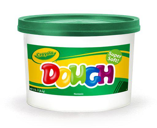 Crayola® Green Modeling Dough, 3Lb Bucket