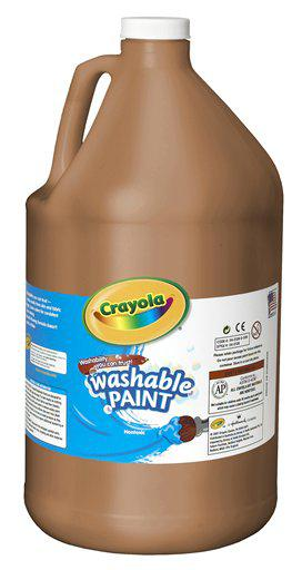 Washable Paint Gallon Brown