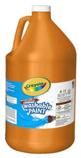 Washable Paint Gallon Orange