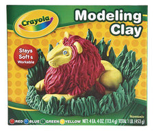 Modeling Clay 4 Pieces Red Blue Green Yellow