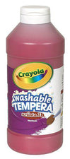 Artista II Tempera 16 Oz Red Washable Paint