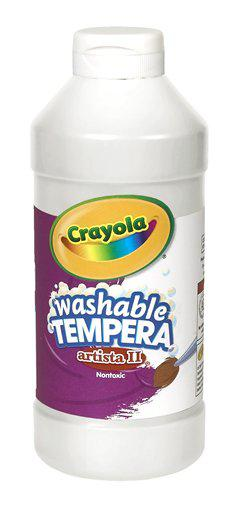 Artista II Tempera 16 Oz White Washable Paint