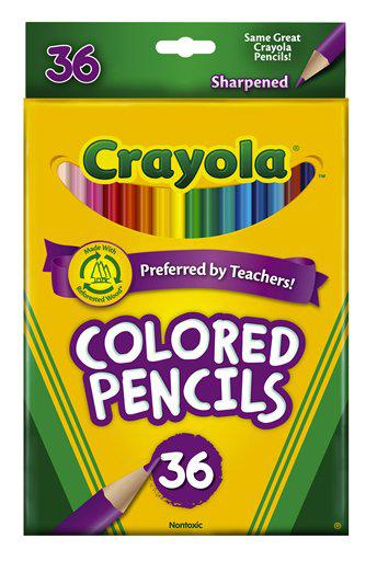 Crayola Colored Pencils 36 Count Assorted
