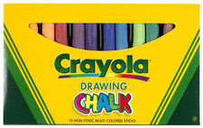 Crayola Colored Drawing Chalk Assorted