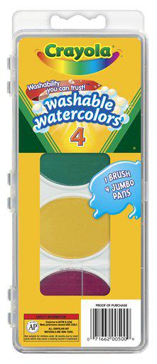 So Big Washable Watercolors