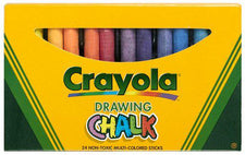 Crayola Colored Drawing Chalk 24Pk