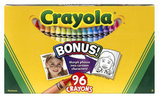 Crayola 96 Count Crayons Hinged Top Box