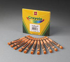 Crayola Bulk Orange Crayons, 12 Count