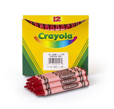 Crayola Bulk Red Crayons, 12 Count