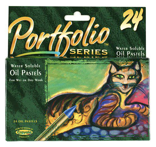 Water Soluble Oil Pastels 24 Count Portfolio Series