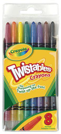 Crayola Twistables Crayons 8 Count