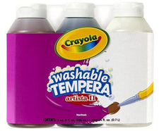Artista II Tempera 3 Count 8 Oz Neutral Color Set Washable Paint