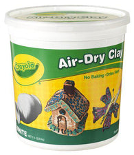 Crayola Air Dry Clay 5 Lbs White