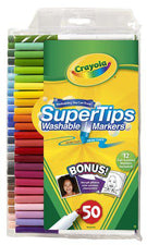 Washable Markers 50 Count Super Tips WithSilly Scents