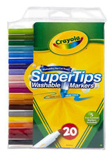 SuperTips Washable Markers, 20 Count