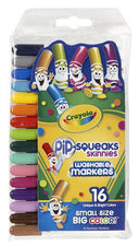 16 Count Pip Squeaks Skinnies Markers