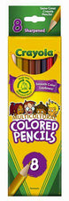 Crayola Multicultural 8 Count Colored Pencils