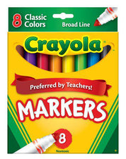 Original Coloring Markers 8 Color