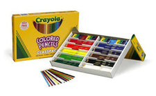 Crayola Colored Pencils, 240 Count Classpack - Full Length