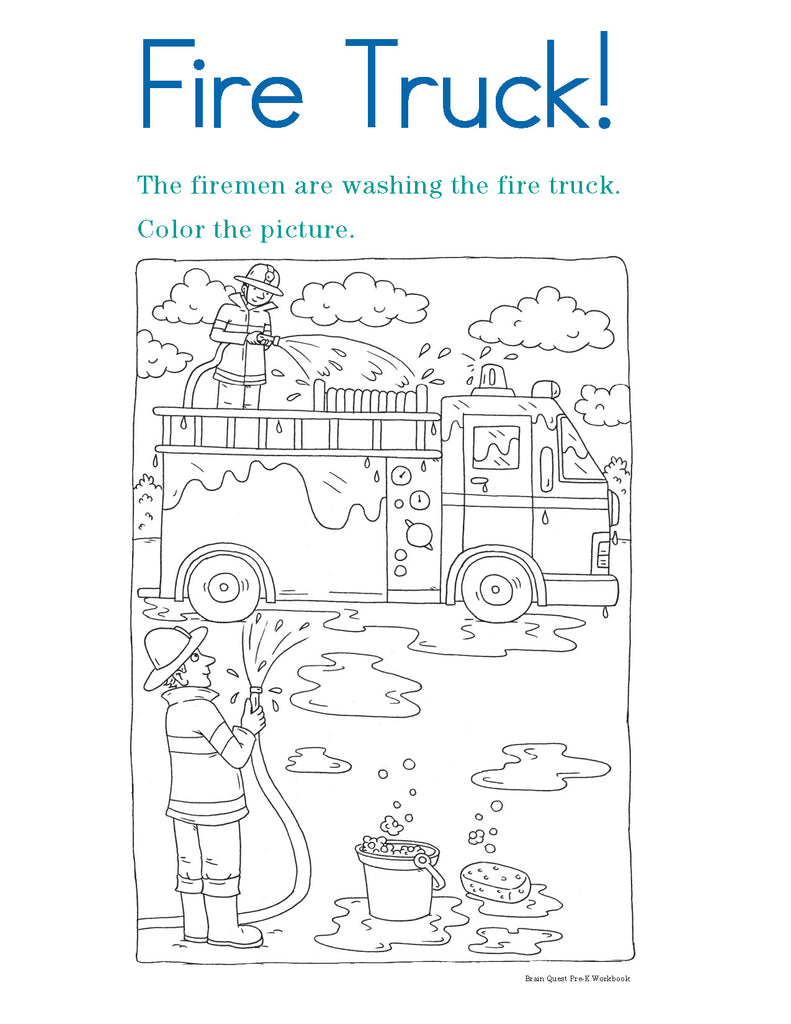 Brain Quest Workbook Grade Prek | WP-14961