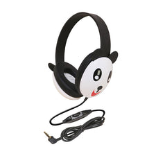 Listening First™ Stereo Headphones (Wired), Panda