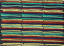 "Cascade© Classroom Rug, 3'10"" x 5'4"" Rectangle Multi"