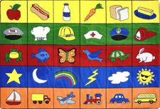 "Categories© Classroom Rug, 5'4"" x 7'8"" Rectangle"