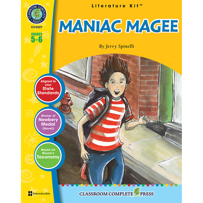 Literature Kit Maniac Magee Cc2527 Supplyme
