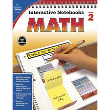 Interactive Notebooks Math Resource Book, Grade 2
