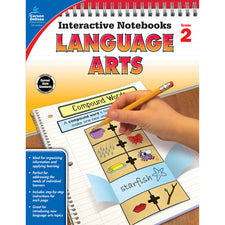 Interactive Notebooks Language Arts Resource Book, Grade 2