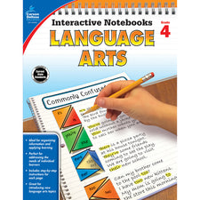 Interactive Notebooks Language Arts Resource Book, Grade 4