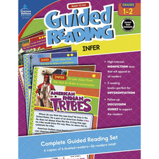 Guided Reading: Infer Resource Book, Grades 1-2