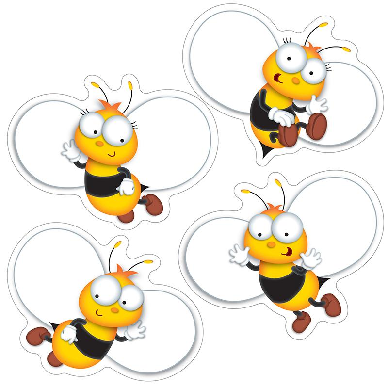 Carson Dellosa Buzz–Worthy Bees Cut-Outs