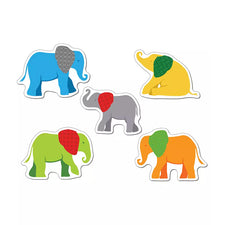 Parade of Elephants Cut-Outs