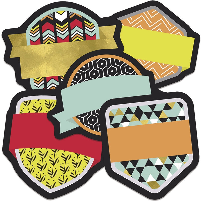 Aim High Badges Mini Cut-Outs