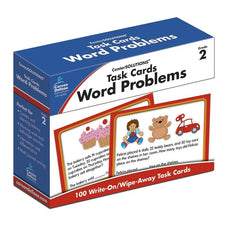 Task Cards: Word Problems Learning Cards, Grade 2