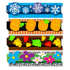 Carson Dellosa Seasonal Pop-Its™ Border Set
