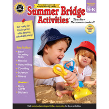 Summer Bridge Activities® Workbook, Grades PreK-K