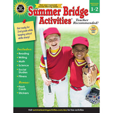 Summer Bridge Activities® Workbook, Grades 1-2