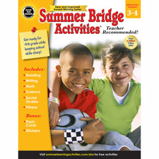 Summer Bridge Activities® Workbook, Grades 3-4