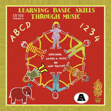 Learning Basic Skills Thru Music CD, Volume 2