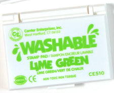 Washable Stamp Pad - Lime Green