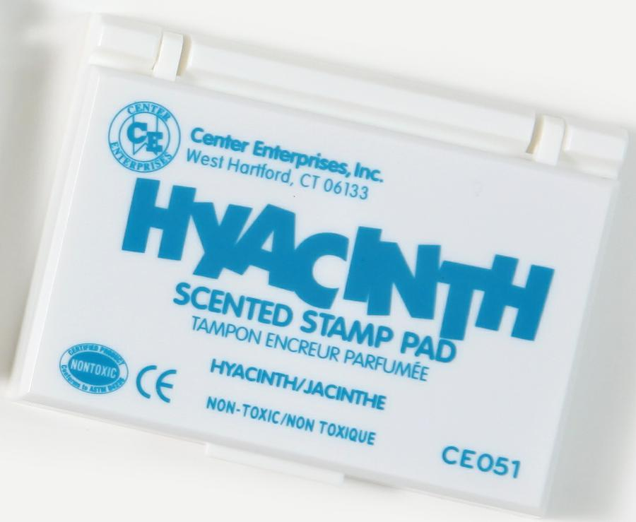 Hyacinth Scented Stamp Pad, Turquoise